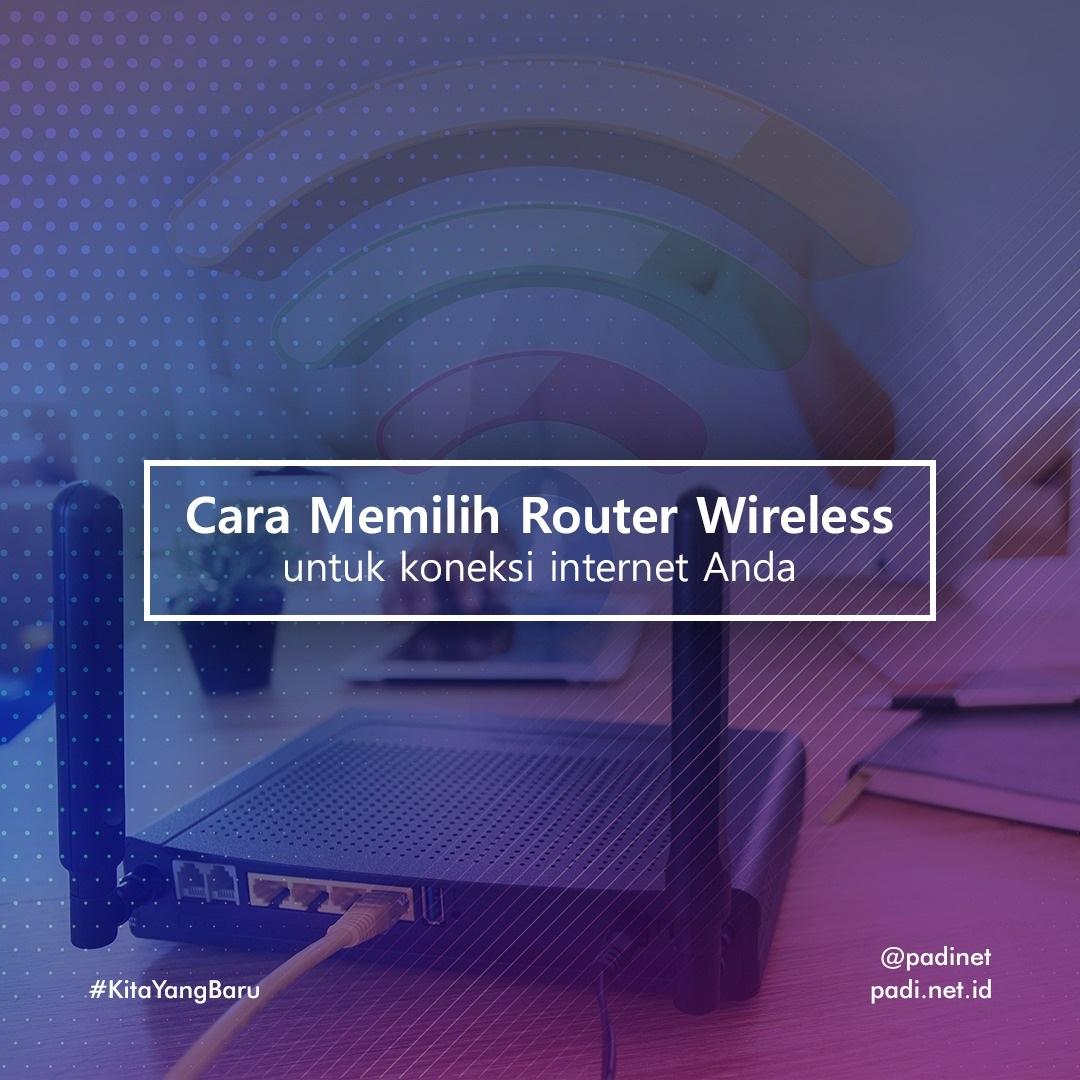 memilih router wireless