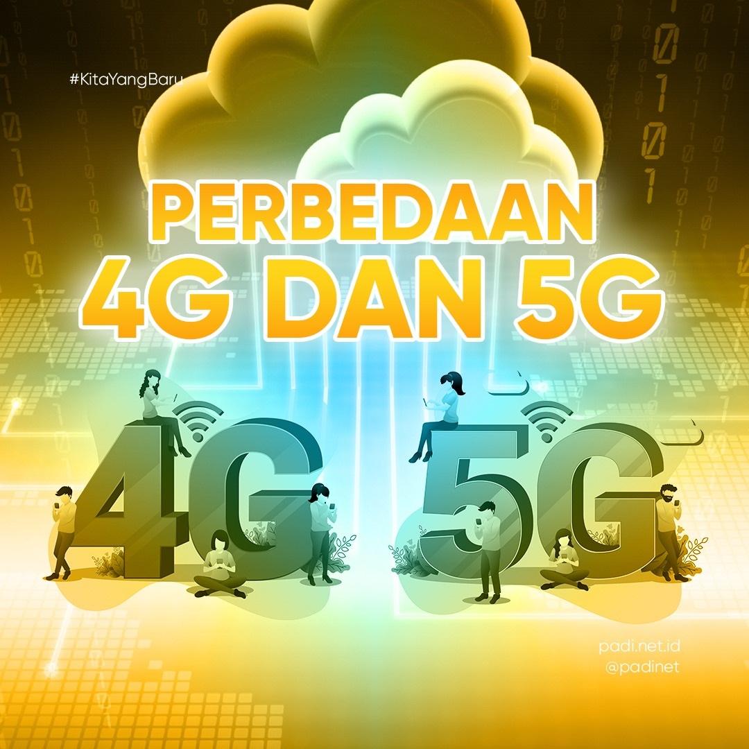 Perbedaan 4G dan 5G