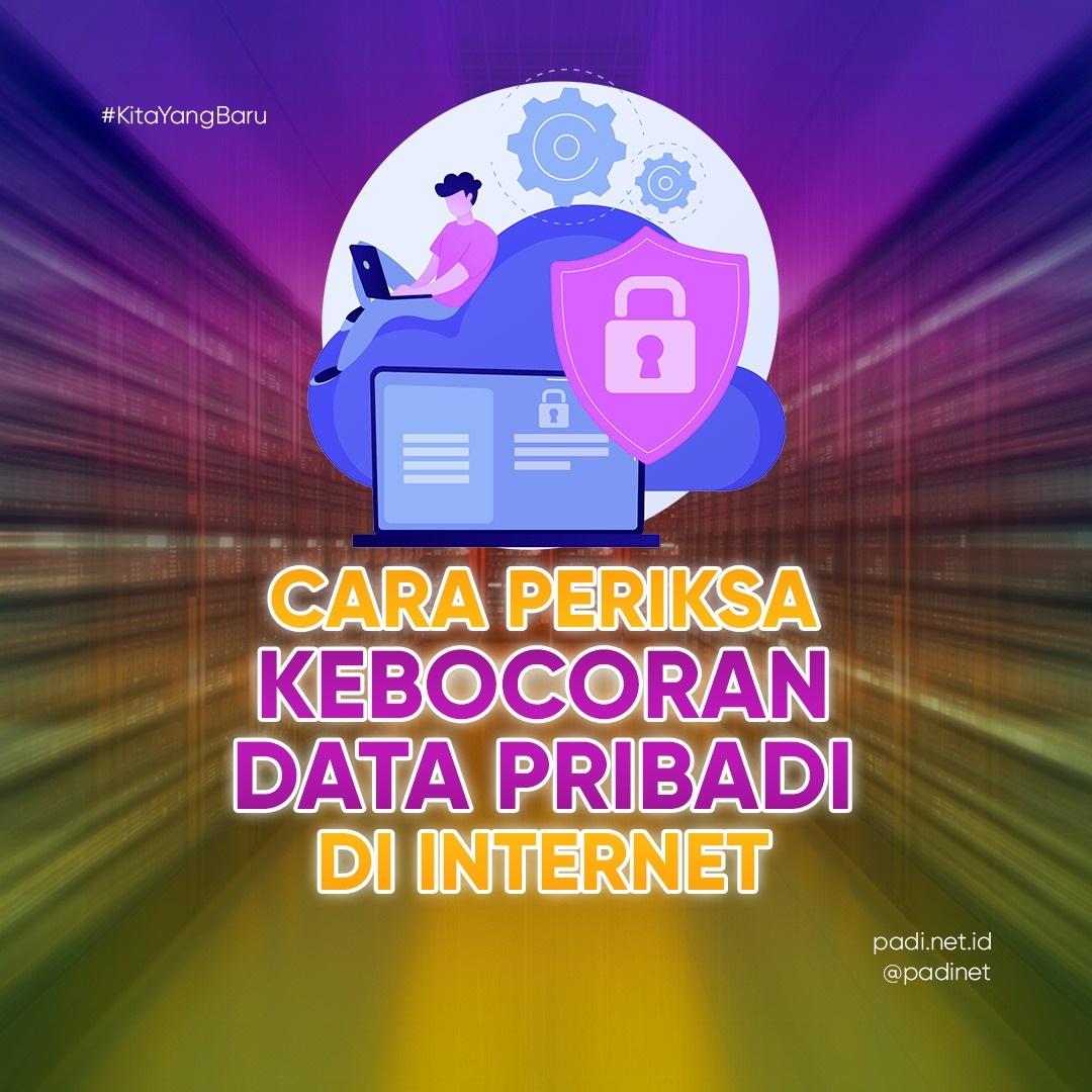 cara periksa kebocoran data pribadi di internet