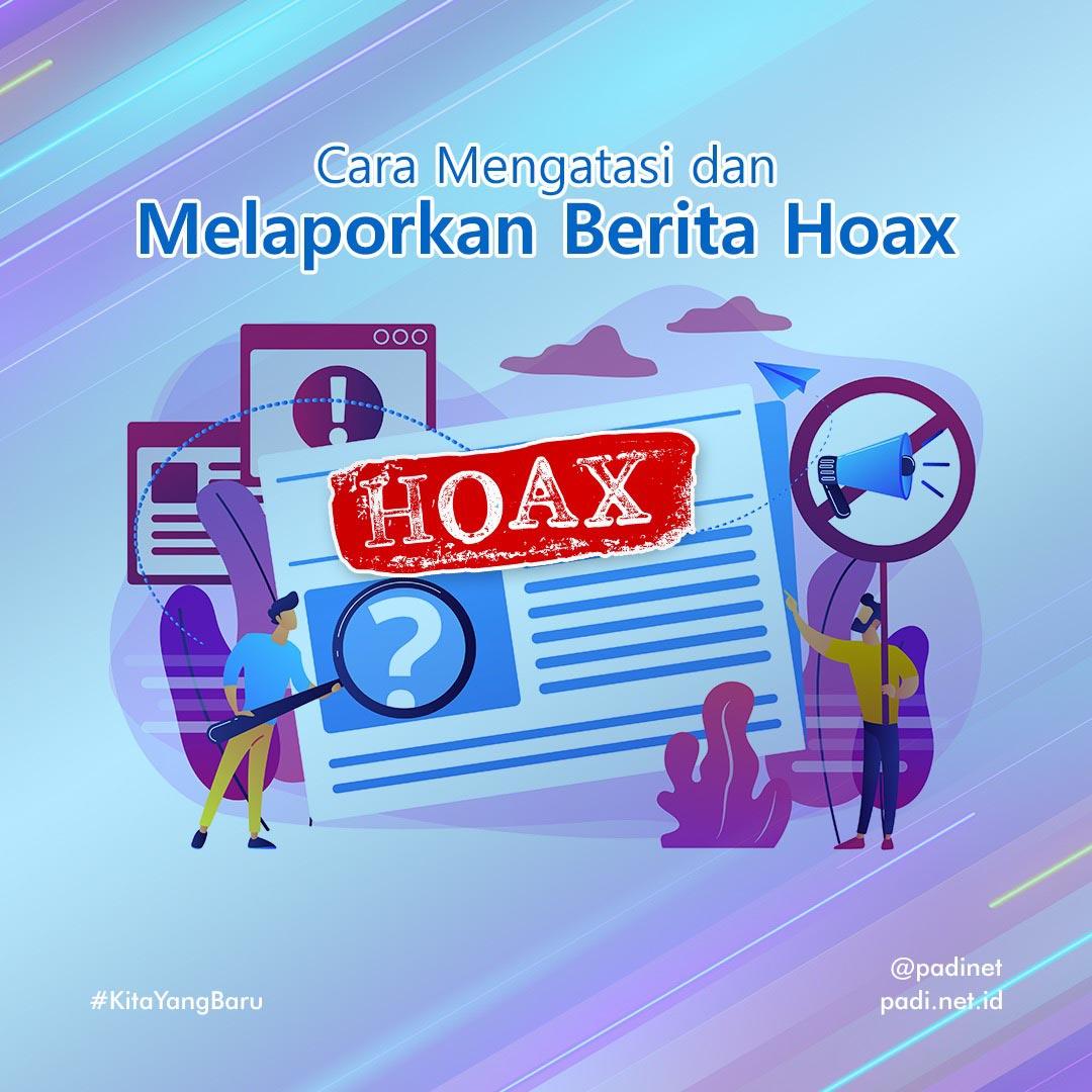 menanggapi berita hoax
